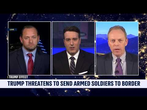 "i24's ""Stateside"" with David Shuster, Apr 24, 2019: Trump Sends Troops to the Border"
