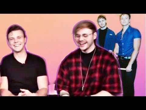 Michael making Ashton laugh