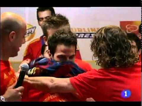 Por fin Cesc Fábregas vuelve al FC Barcelona. 12/8/11
