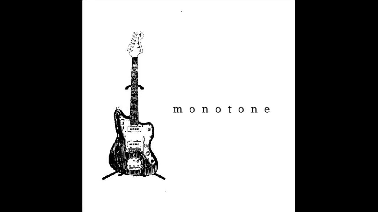 monotone − glow - YouTube
