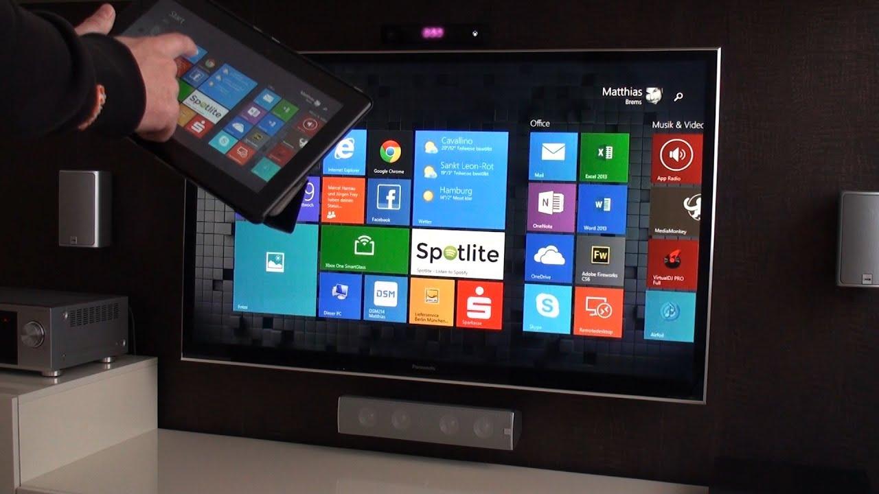 Xbox One Miracast Wireless Display App First Look XboxFRONT de
