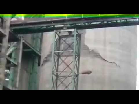 Fauji cement CF silo collapse.