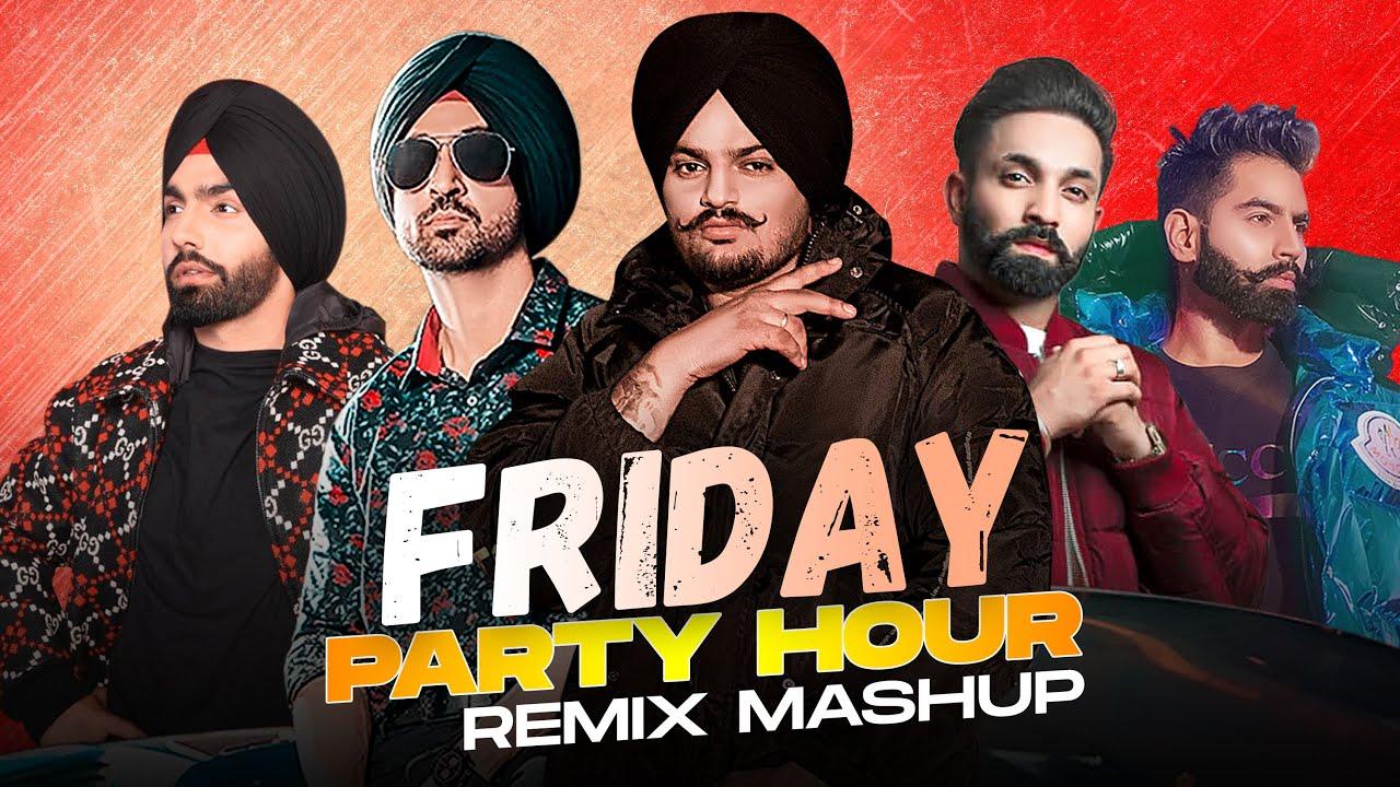 Friday Party Hour| Sidhu Moosewala | Diljit Dosanjh | Ammy Virk | Parmish Verma | Dilpreet Dhillon
