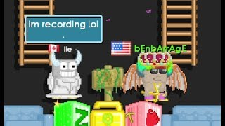 Middleman Gone Wrong! He thinks I SCAMMED! Threatened me! | Growtopia