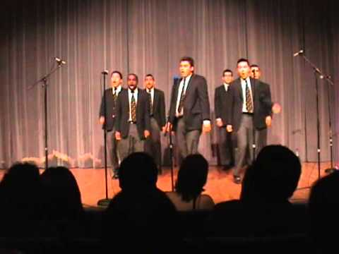 UC Men's Octet  - The Call (Backstreet Boys)
