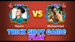 Mohammed Vs Nazim 🤼| Trick shot game play | Carrom pool | Carrom pool Nazim | Gaming Nazim 🔥| Carrom screenshot 5