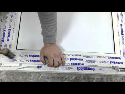 Как забить штапики пластиковых окон