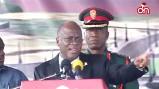 Rais Magufuli akieleza sababu ndugu zake kubomolewa nyumba