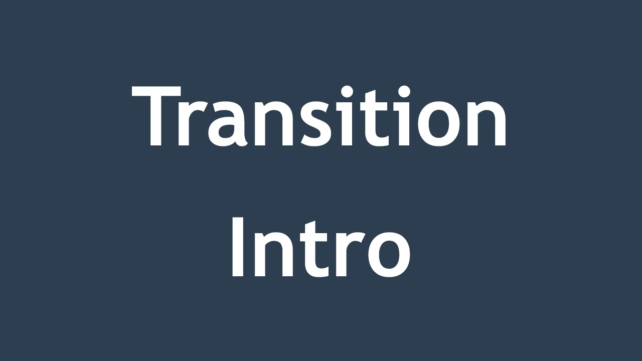 [ Css3 In Arabic ] #32 - Transition - Intro