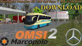 [OMSI 2] Marcopolo Paradiso G7 1200 6x2 Euro V MB O-500RSD [+Download]