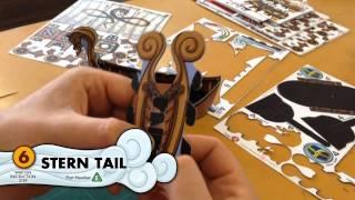 Viking Horde: Papercraft - Longship Assembly Guide