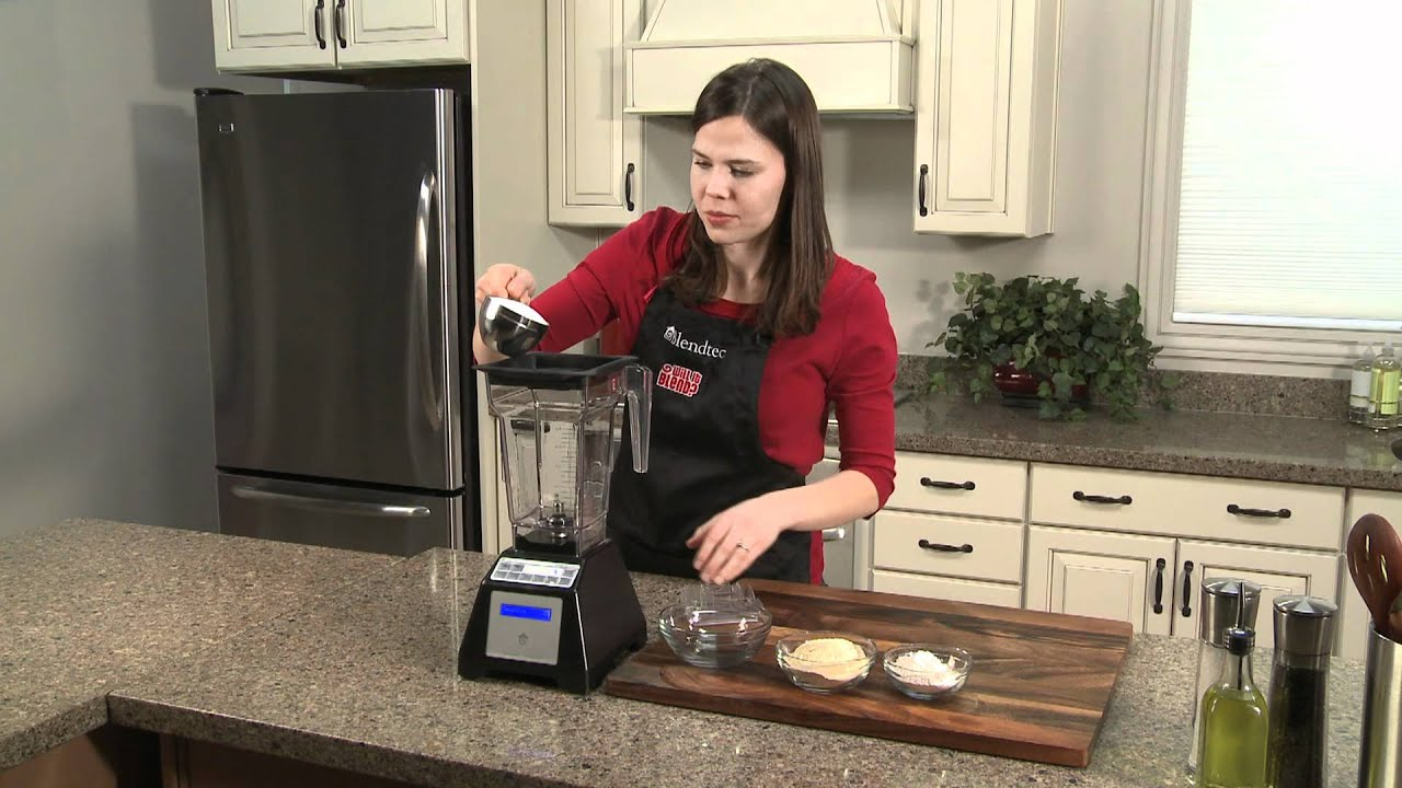 how to make powdered sugar blendtec recipes youtube
