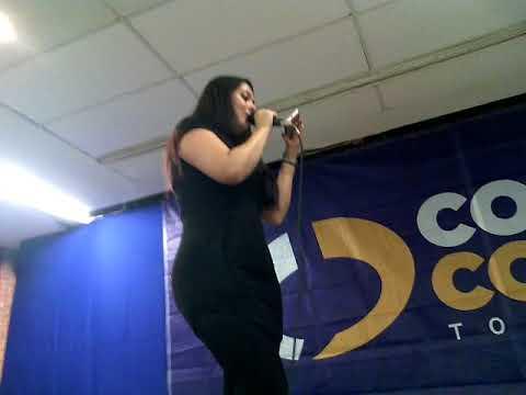 Jessica angeles (discucion de super girl y laddybug) con comics acapulco parte cuatro