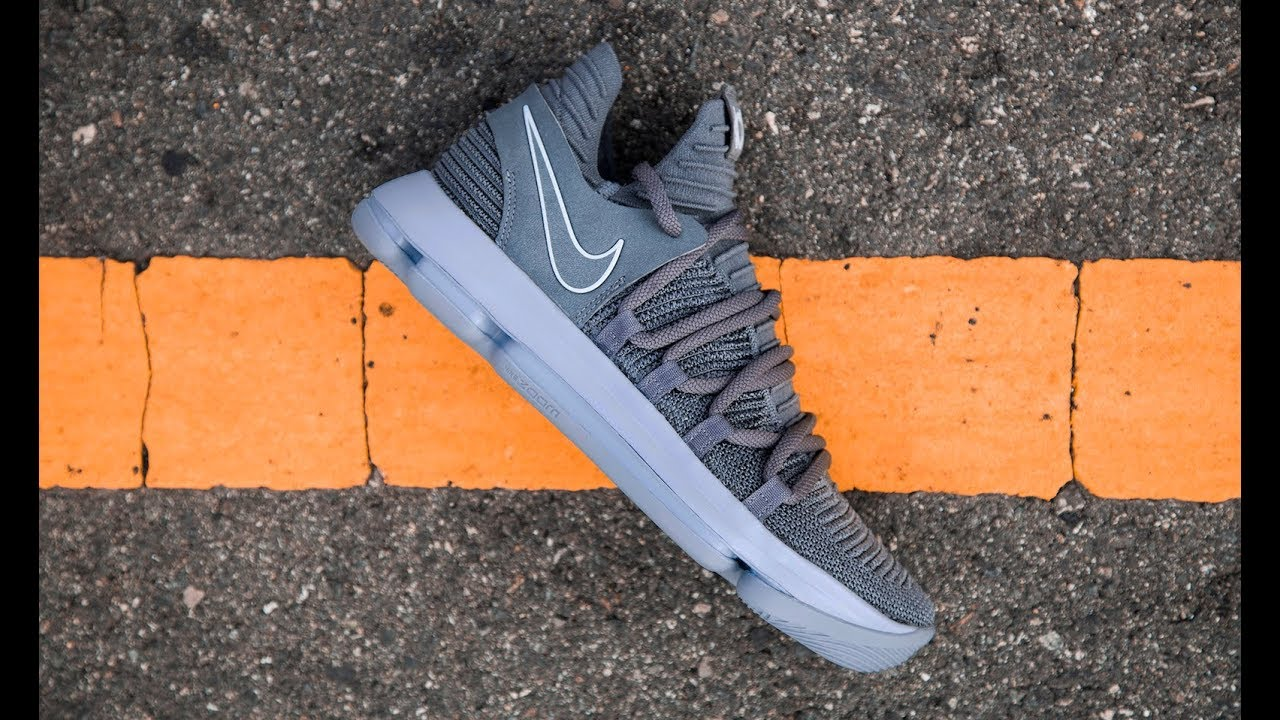 online store 9ea29 1ca35 FIRST LOOK  Nike KD X (10)  Dark Grey    SHIEKH