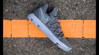 Gambar cover FIRST LOOK: Nike KD X (10) 'Dark Grey' | SHIEKH
