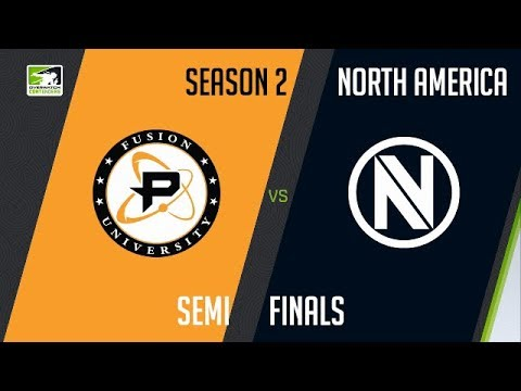 Fusion University vs Team Envy (Part 1)   OWC 2018 Season 2: North America [Semifinals]