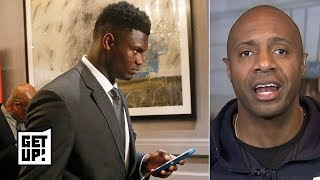 Download Zion Williamson wasn't happy, looked surprised when Pelicans got top pick - Jay Williams | Get Up! Mp3 and Videos