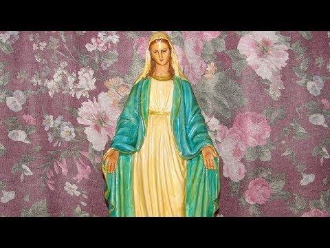 Cinq chants populaires à Marie (diaporama)