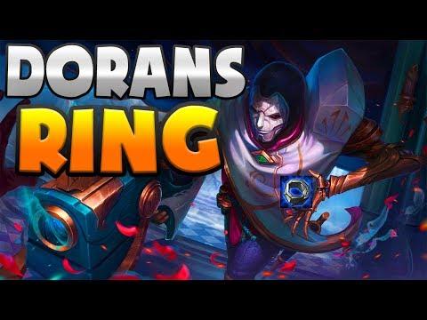 NOVA BUILD COREANA! JHIN DE DORANS RING?