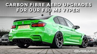 Fitting M4 GTS Aero and Carbon 1.5 Diffuser to our F80 M3 Project Vyper