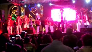 Banda Incomparable de Altepexi Puebla acompañando al Espolon de Oro
