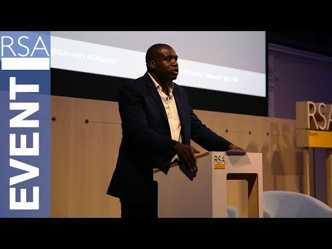 Justice for All? | The Rt Hon David Lammy MP | RSA Replay