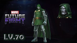 Marvel Future Fight LV70 Doctor Doom (PVP build) Review 漫威未來之戰 LV70末日博士 (PVP配置) 導覽 Video