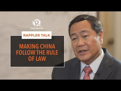 Rappler Talk: Making China follow the rule of law