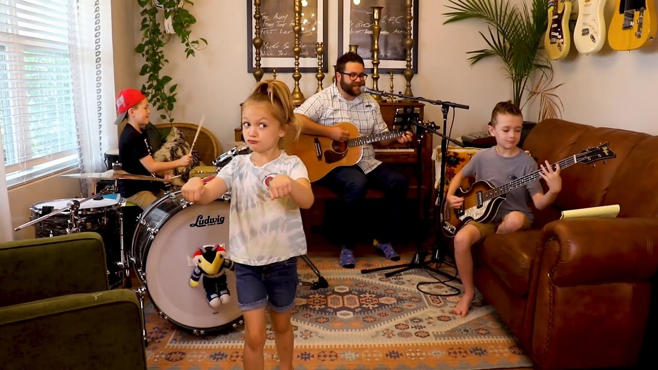 "Colt Clark and the Quarantine Kids play ""She Loves You"""