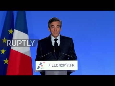 France: 'I will not surrender' - Fillon attacks legal process behind corruption charges