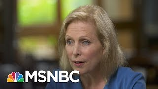 Gillibrand: Trump Doesn't Have A Cabinet That Reflects Our Values   Up With David Gura   MSNBC