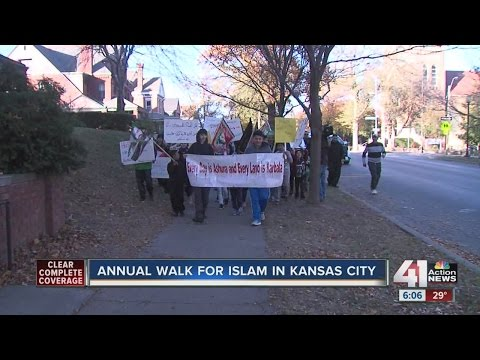 Annual walk for Islam in Kansas City