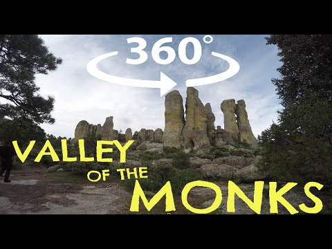 360º Valley of the Monks, Mexico ⎸ 360 Honeymoon