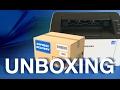 Samsung M2026 Unboxing Test Print mp3