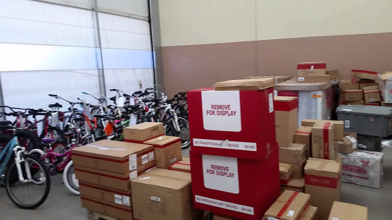 Christmas product storage area at Meijer (New Albany, IN-store ...