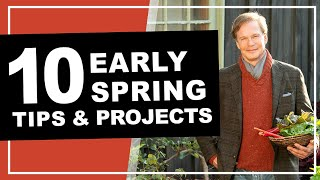 7 Vegetables to Start Now | Early Spring Gardening Tips: P. Allen Smith