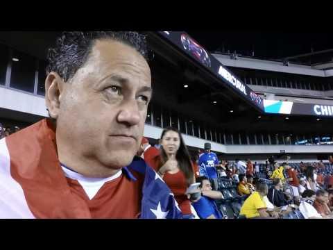 Reporteando medio tiempo  Lincoln Financial Field Philadelphia 2016 Chile 4 Panama 2