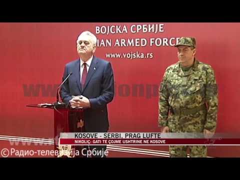 Kosovë - Serbi, prag lufte - News, Lajme - Vizion Plus