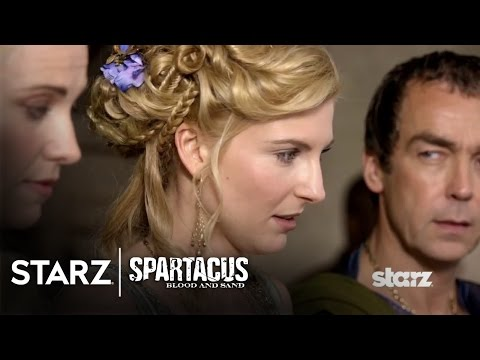 Spartacus: Blood and Sand | Episode 8 Clip: Ilithyia as Future Domina? | STARZ: Episode 108 'Mark of the Brotherhood'  Ilithyia contemplates owning a new gladiator recruit as she assesses their qualities.  Subscribe now for more STARZ clips: http://bit.ly/1kalhP0   Watch Spartacus now on the STARZ app: http://starz.tv/WatchSTARZYT  Like Spartacus on Facebook: http://bit.ly/SPSPR Follow Spartacus on Twitter: http://bit.ly/NkBNw1  A Thracian warrior forced into slavery, Spartacus became the gladiator known as the Bringer of Rain. After losing his wife Sura and thirsty for vengeance, he led the gladiators in an uprising to escape the ludus and would eventually defeat the legions of Gaius Claudius Glaber and slayed the Roman praetor. Now, Spartacus has amassed an army in the thousands. He knows he is not only responsible for the lives of every man, woman, and child in his rebellion but also for continuing to inspire them to fight for freedom from oppression and stand up against the mighty Roman Republic.  Like STARZ on Facebook: http://starz.tv/STARZFacebookYT Follow STARZ on Twitter: http://starz.tv/STARZTwitterYT Follow STARZ on Instagram: http://starz.tv/STARZInstagramYT  Spartacus | Blood and Sand - Ilithyia as Future Domina? | STARZ   http://bit.ly/1mkHKgZ