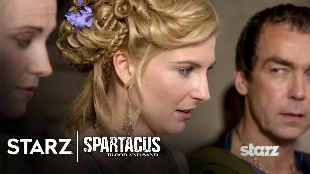 Download Spartacus: Blood and Sand | Episode 8 Clip: Ilithyia as Future Domina? | STARZ