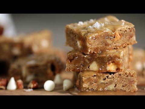 Maple Butterscotch Blondies Recipe | Get the Dish