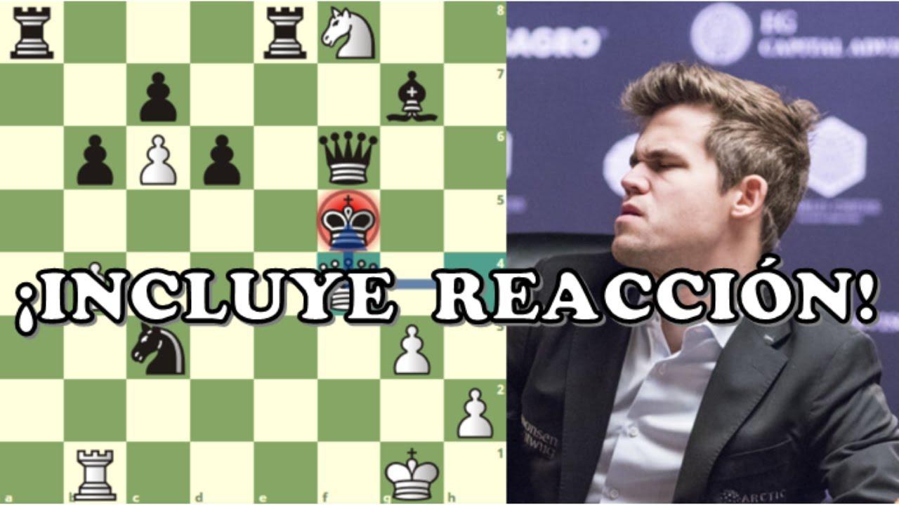 ¡CAMPEÓN MUNDIAL PIERDE POR JAQUE MATE!: Ding Liren vs Carlsen (Chess Tour Finals, Semifinal, 2020)