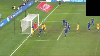 Australia 1-0 Greece highlights - Matthew Leckie Goal