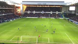 Jermain Defoe 3 minutes of brilliance 1 goal and 1 assist, Rangers 4-0 St Mirren