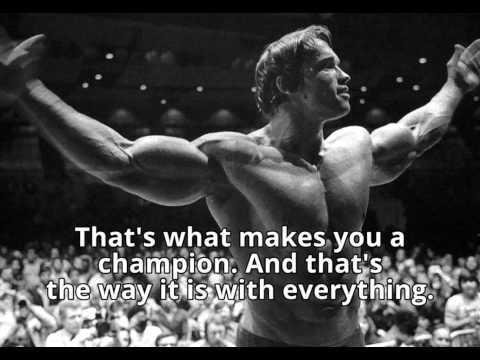 Arnold Schwarzenegger Motivation   6 rules of success speech   with subtitles HD