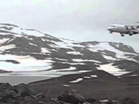 BAe-146 in Antarctica (King George Island)