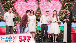 Wanna Date | Ep 577: Medical girl overacts that makes Quyen Linh tired