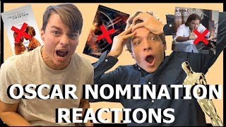 2019 Oscar Nominations LIVE REACTIONS! (We FREAK out)