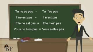 Урок французского языка 10 с нуля для начинающих: отрицательная форма во французском языке