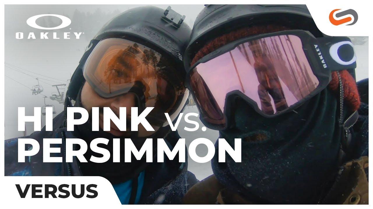 274859dc3c1b Oakley PRIZM Persimmon VS PRIZM Hi Pink - YouTube